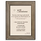 Wall Solution 5-Inch x 7-Inch Frame in Distressed Brown