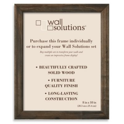 Wall Solution 8-Inch x 10-Inch Frame in Barn Wood
