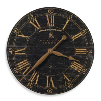 Uttermost Bond Street 18-Inch Wall Clock