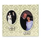 Twenty-fifth Anniversary Double Photo Frame