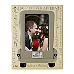 4-Inch x 6-Inch Just Married Wedding Frame