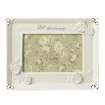 25th Anniversary Photo Frame