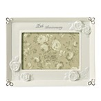 Twenty-fifth Anniversary 4-Inch x 6-Inch Photo Frame
