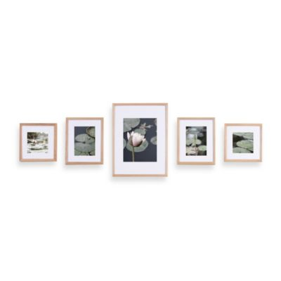Gallery Perfect 5-Piece Frame Set in Natural