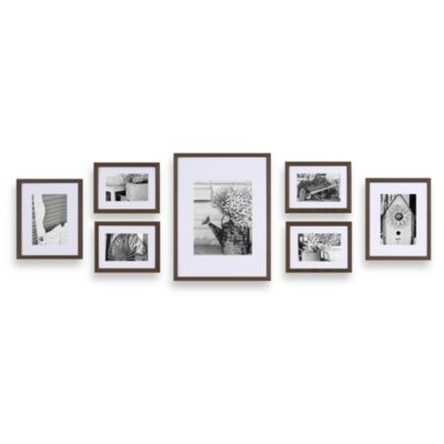 Gallery Perfect 7-Piece Frame Set in Walnut