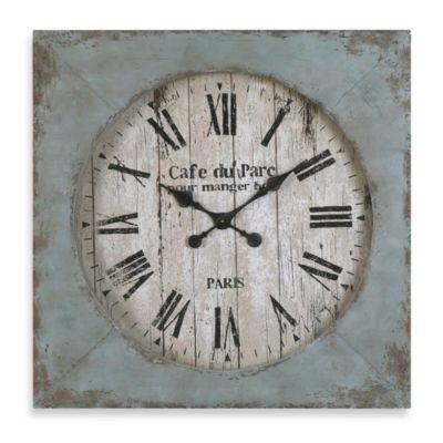 Uttermost Paron 29-Inch Wall Clock