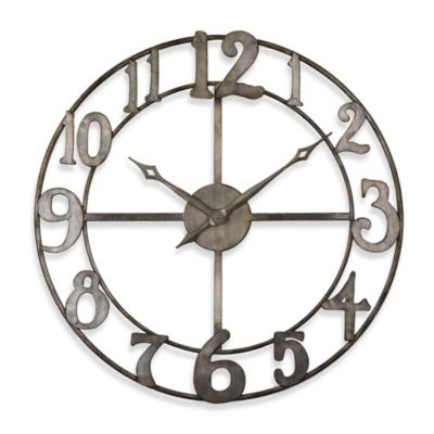 Home Decor Metal Wall Clock
