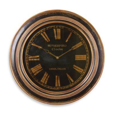 Antique Bronze Wall Clock
