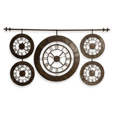 Uttermost Time Zones Wall Clock