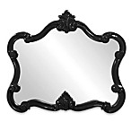 Howard Elliott® Veruca Mirror in Glossy Black