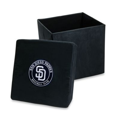 San Diego Padres Collapsible Storage Ottoman