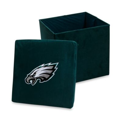 Philadelphia Eagles Collapsible Storage Ottoman