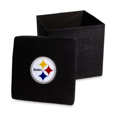 Pittsburgh Steelers Collapsible Storage Ottoman