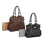 Carter's® Double Zip Front Fashion Tote Diaper Bag