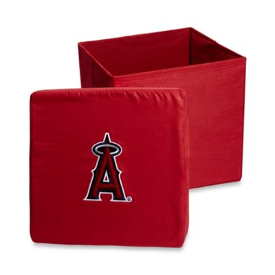 Los Angeles Angels of Anaheim Collapsible Storage Ottoman