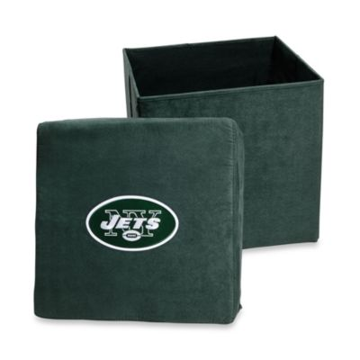 New York Jets Collapsible Storage Ottoman