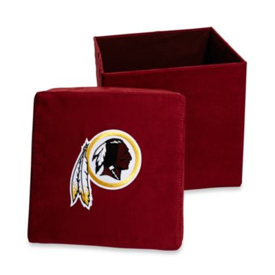 Washington Redskins Collapsible Storage Ottoman