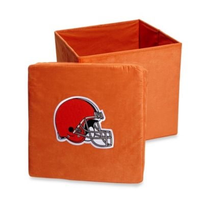 Cleveland Browns Collapsible Storage Ottoman