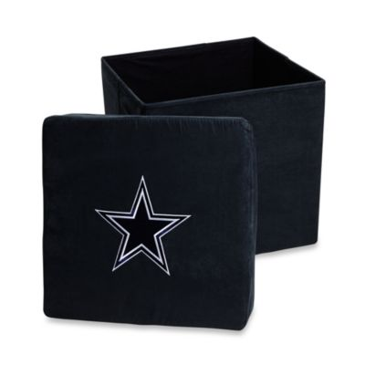 Dallas Cowboys Collapsible Storage Ottoman