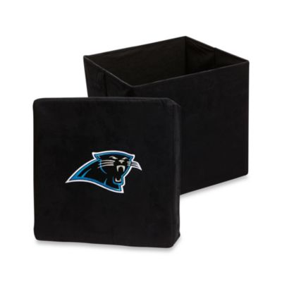 Carolina Panthers Collapsible Storage Ottoman