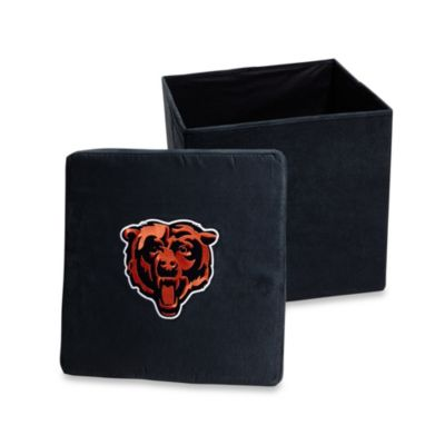 Chicago Bears Collapsible Storage Ottoman