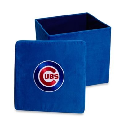 Chicago Cubs Collapsible Storage Ottoman