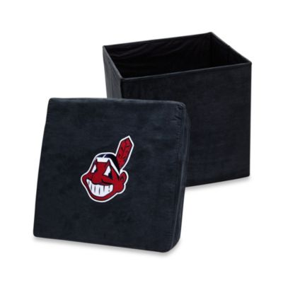 Cleveland Indians Collapsible Storage Ottoman