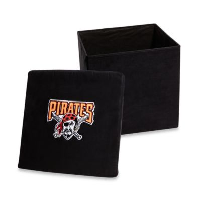 Pittsburgh Pirates Collapsible Storage Ottoman