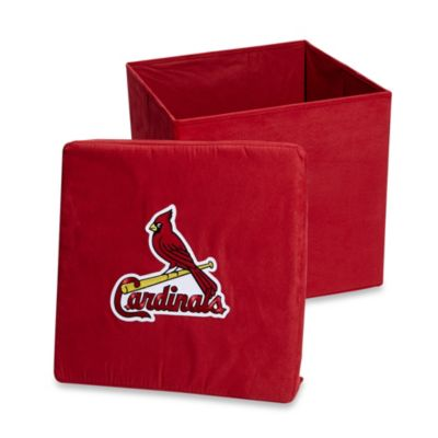 St. Louis Cardinals Collapsible Storage Ottoman