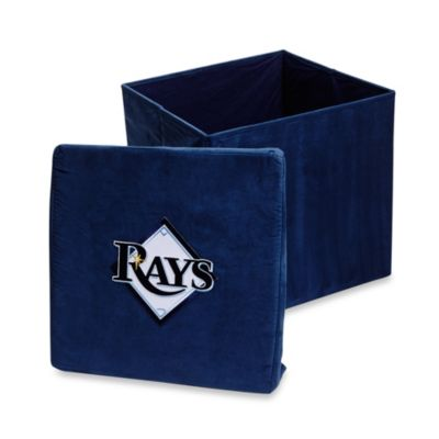 Tampa Bay Rays Collapsible Storage Ottoman