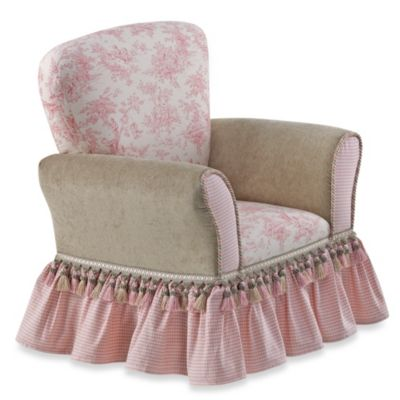 Glenna Jean Isabella Upholstered Child's Rocker