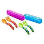Sassy® On-the-Go Fork and Spoon Set