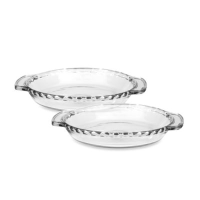 Anchor Hocking® 9.5-Inch Pie Dishes (Set of 2)