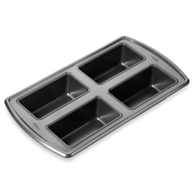 Wilton® Advance® 4-Cavity Mini Loaf Pan