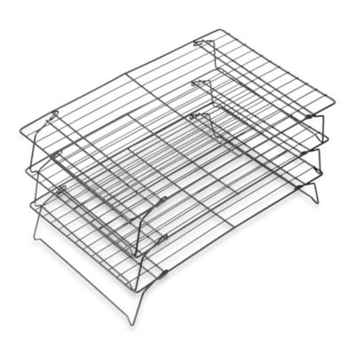 Wilton® Advance® 3-Tier Cooling Grid with Aluma-Gloss Coating™