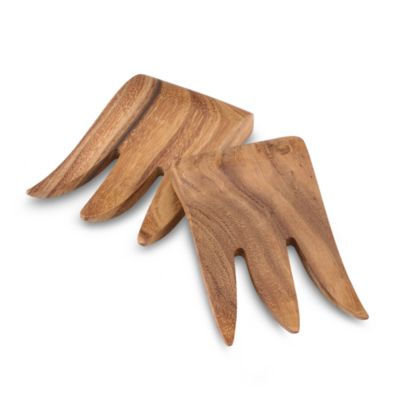 Ironwood Gourmet® Wood Bear Claw Salad Servers (Set of 2)