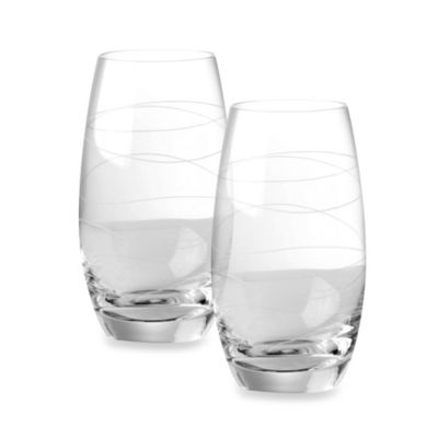 Nambe Motus Highball Glasses - Set of 2