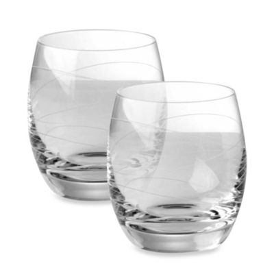 Nambe Motus Double Old-Fashioned Glasses - Set of 2