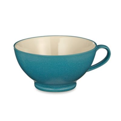 Noritake® Colorwave 18-Ounce Handled Bowl in Turquoise