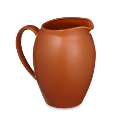Noritake® Colorwave Pitcher in Terra Cotta