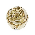 Red Pomegranate Gilded Rose 6.5-Inch Canape Plate