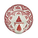 Johnson Brothers Old Britian Castles Christmas Tree Dinnerware in Pink