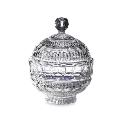 Fifth Avenue Crystal Princeton 6.7-Inch Candy Jar with Lid