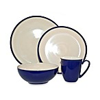 Denby Dine 4-Piece Dinnerware Set in Royal Blue