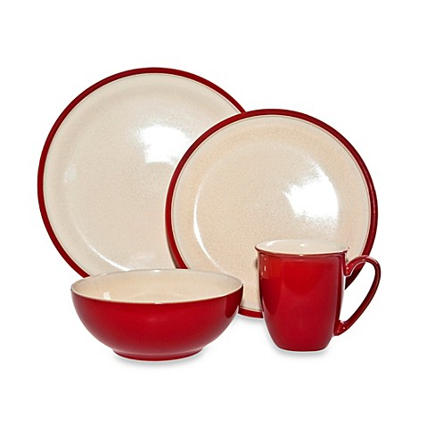 Denby Dine 4-Piece Dinnerware Set in Cherry