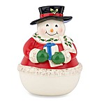 Lenox® Holiday Snowman Cookie Jar