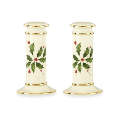 Lenox® Holiday Archive™ Salt & Pepper Set