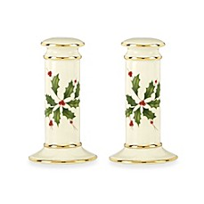 Lenox® Holiday Archive™ Salt & Pepper Shakers