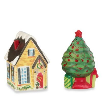 Lenox® House and Tree Salt & Pepper Set