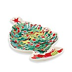 Lenox® Holiday™ 10.5-Inch Tree Canape Plate